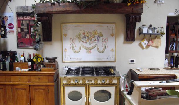 Maioliche d 39 autore realizzazioni for Maioliche da cucina